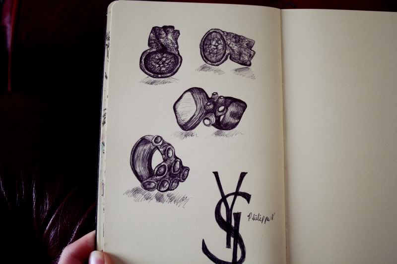 YSL Arty Rings - Illustration