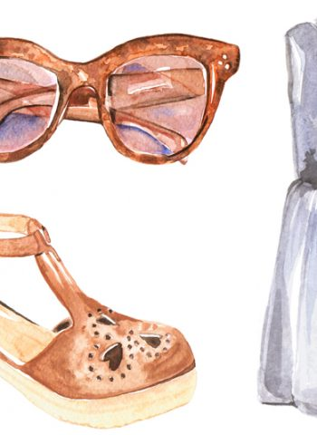 Summer wishlist illustration - Cocoskies | Illustration, design & travel blog