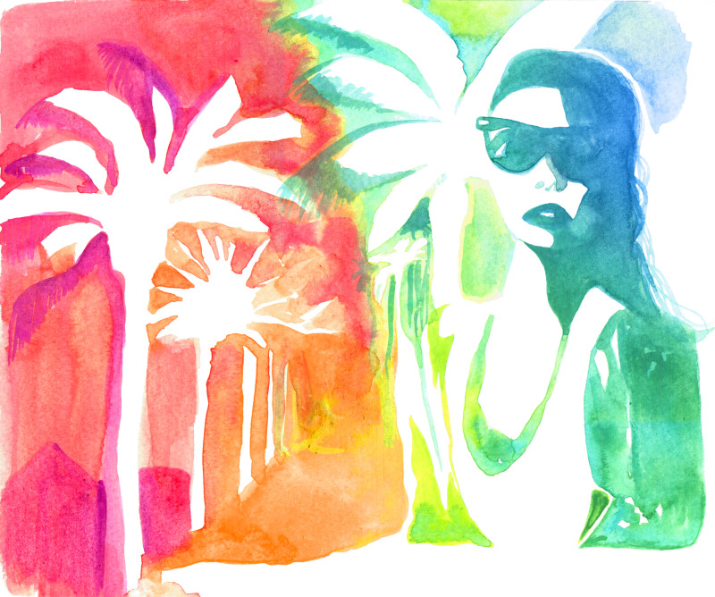 An injection of Summer - Cocoskies | Illustration, design & travel blog