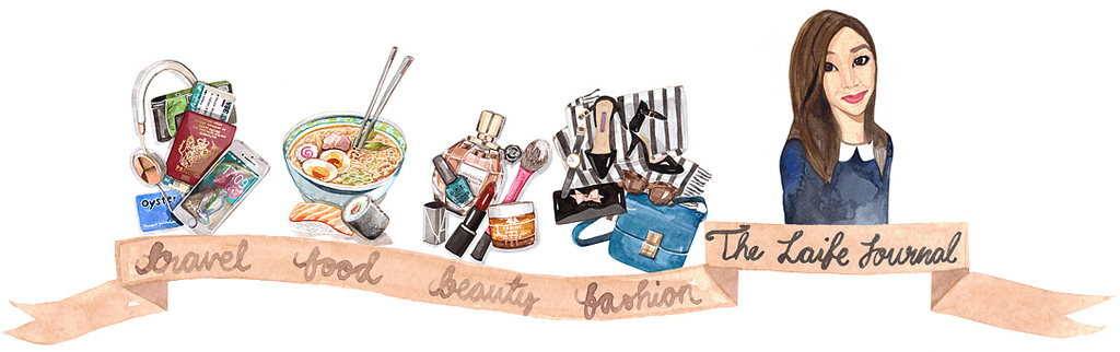 The Laife Journal - Watercolour header - Cocoskies | Illustration, design & travel blog