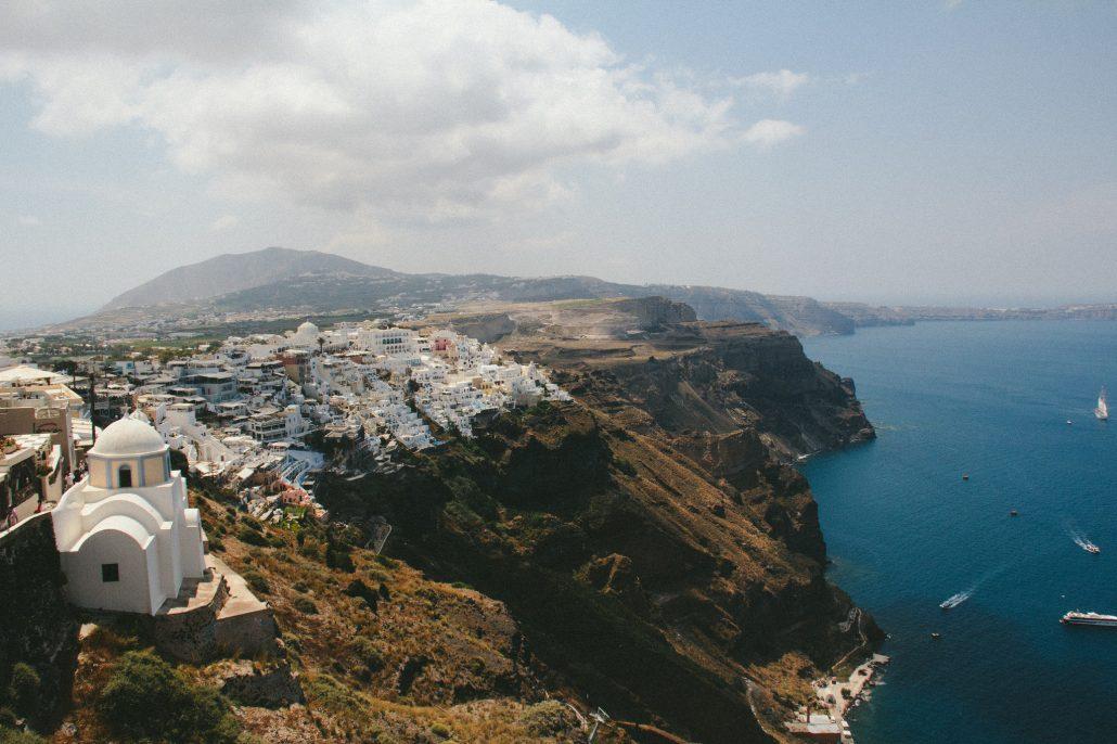 Santorini - Cocoskies | Illustration, design & travel blog