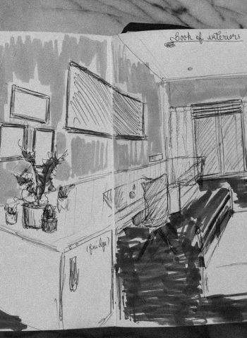 Interior sketching - Cocoskies