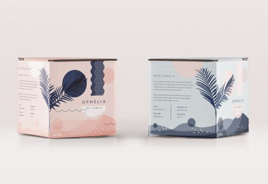 Ophelia Candle - Cocoskies | Illustration, design & travel blog