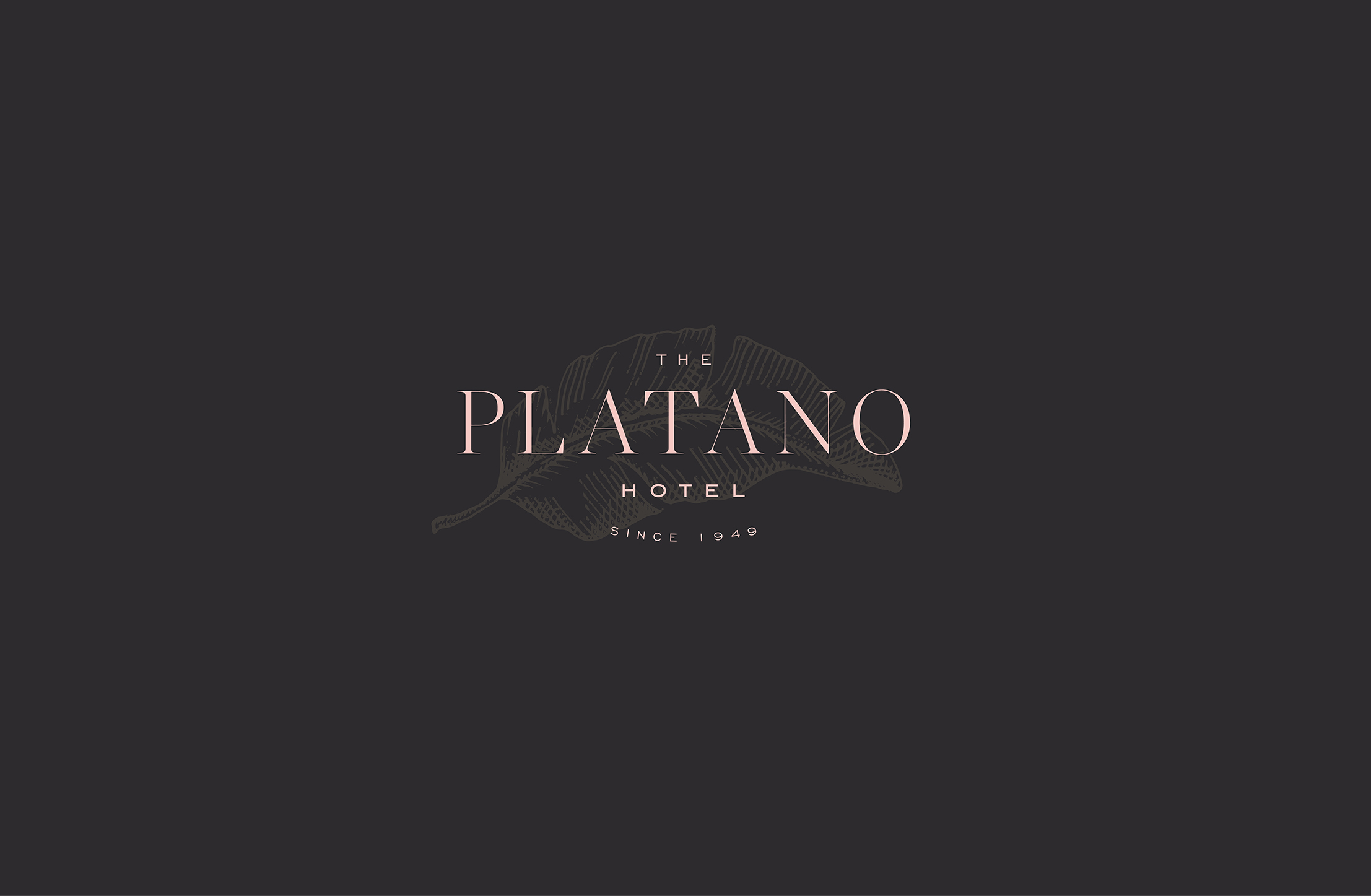 The Platano Hotel Branding - Logo - Cocoskies | Illustration, design & travel blog