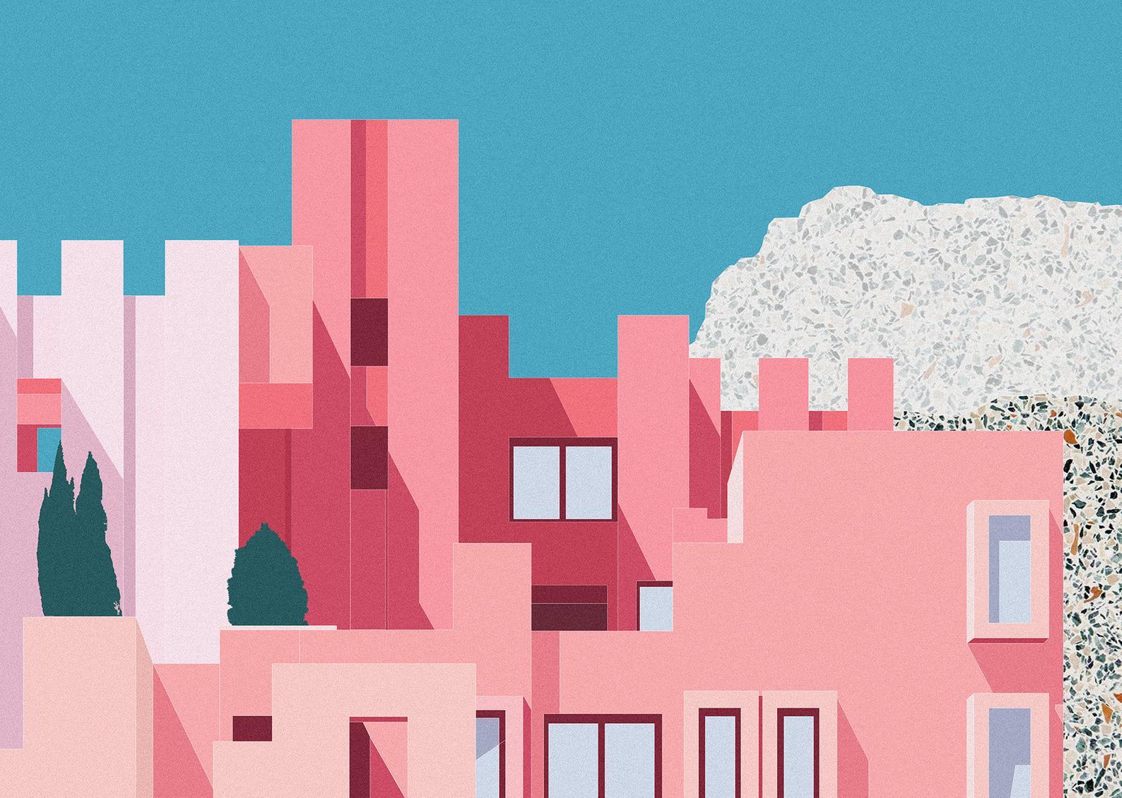 Muralla Roja print - KaloolaJay Studio Interview - www.cocoskies.com